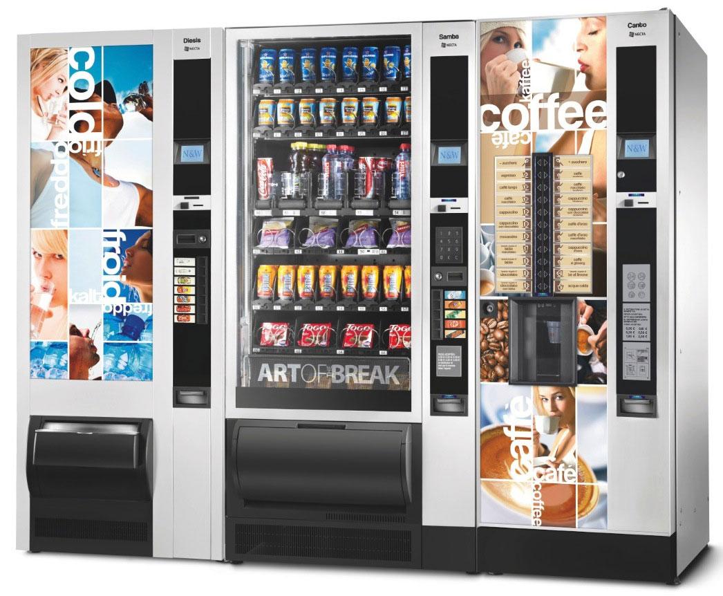 Distributori automatici per grandi comunità