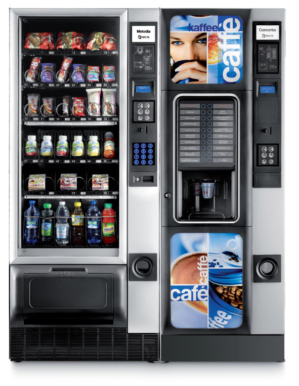 Distributori automatici per medie comunità